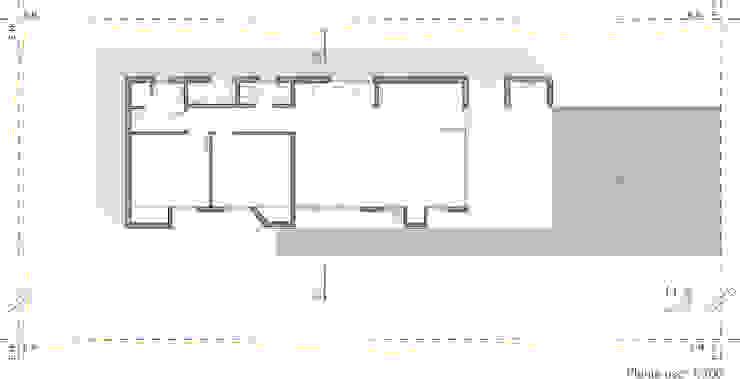 Дома в стиле модерн от Estudio Moirë arqs. Модерн