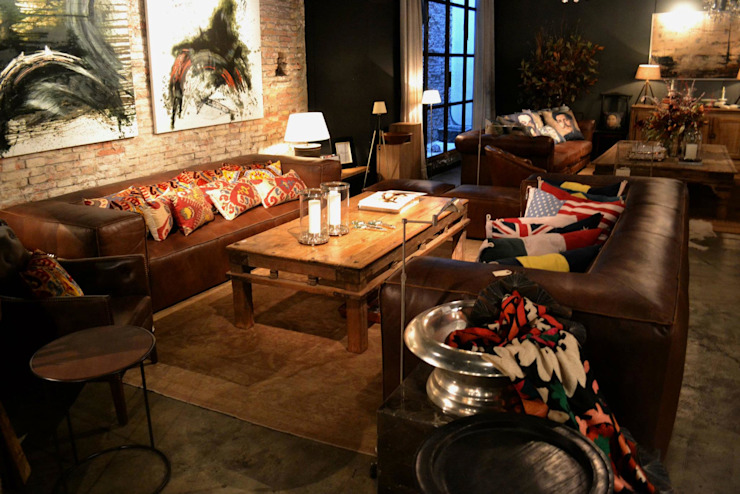 Muebles e ideas de DecoGallery: Livings de estilo  por DecoGallery