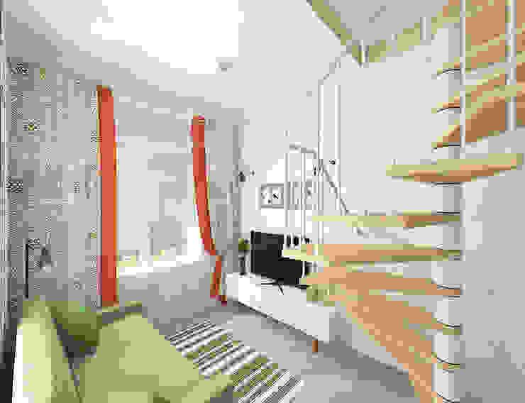 Livings de estilo mediterráneo de Design Rules Mediterráneo