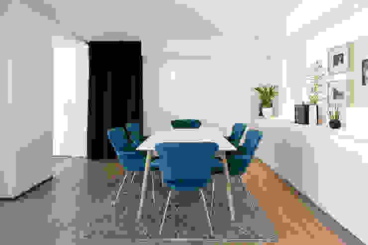 Anbau mit Aussenanlage K3- Planungsstudio Moderne Esszimmer