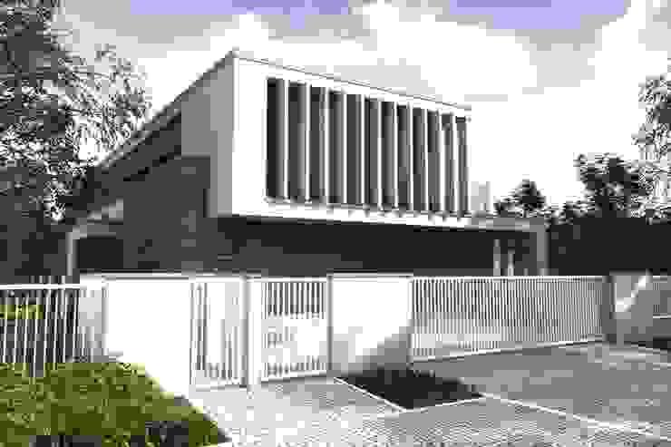 Dom jednorodzinny pod Poznaniem Nowoczesne domy od Offa Studio Nowoczesny