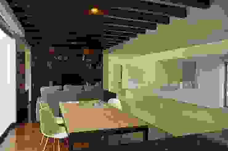 CASA PM: Comedores de estilo  por Vito Ascencio y Arquitectos, Moderno