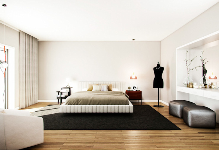 Modern style bedroom by Vilaça Interiores Modern
