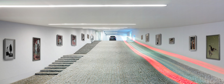 Garage / Hangar par KWK Promes
