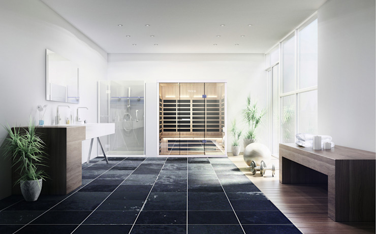 infra red sauna for your home by Leisurequip Limited