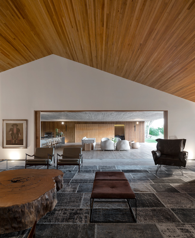 M&M House Salas de estar modernas por Studio MK27 Moderno