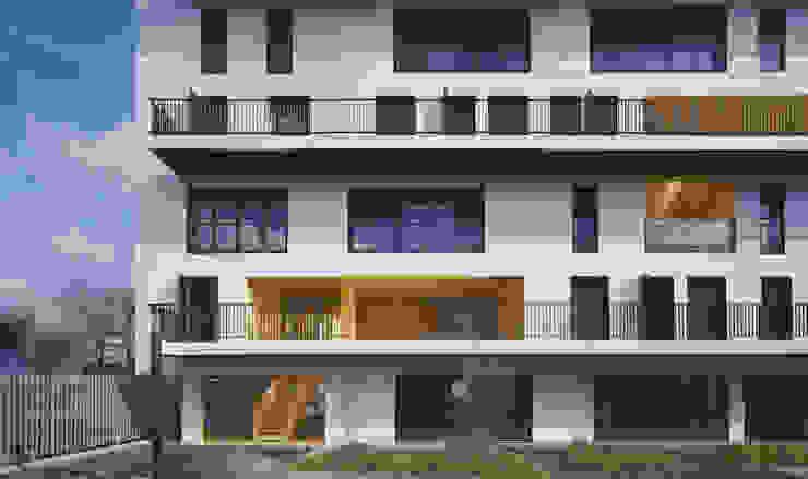 2_DEPUIS LE JARDIN COMMUN par sophie delhay architectes