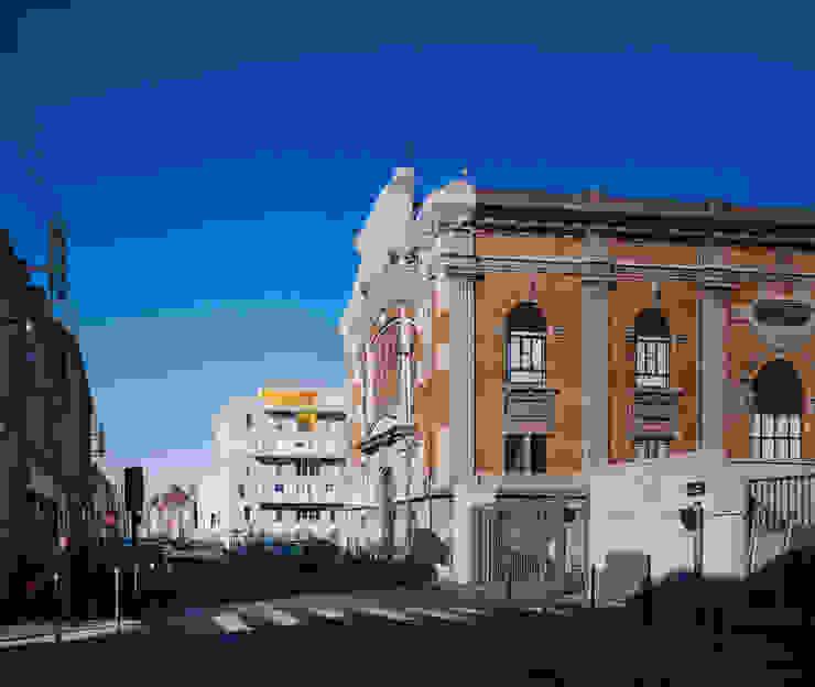 4_DEPUIS LA RUE DE LANNOY par sophie delhay architectes