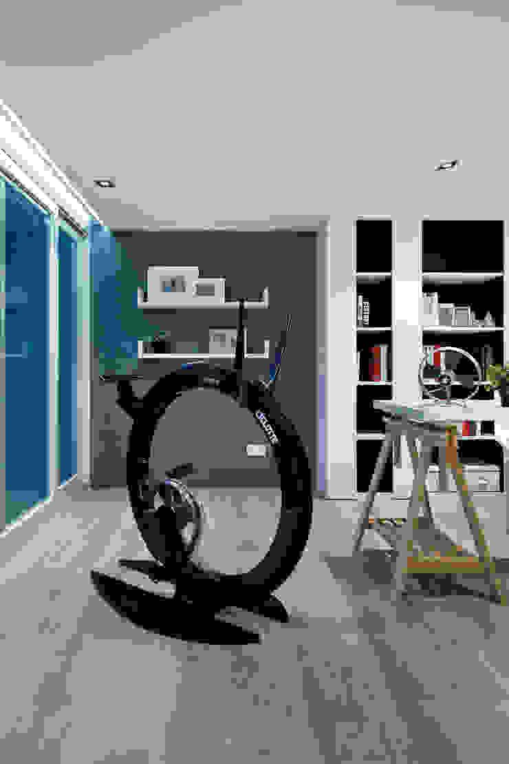 Millimeter Interior Design Limited Modern gym