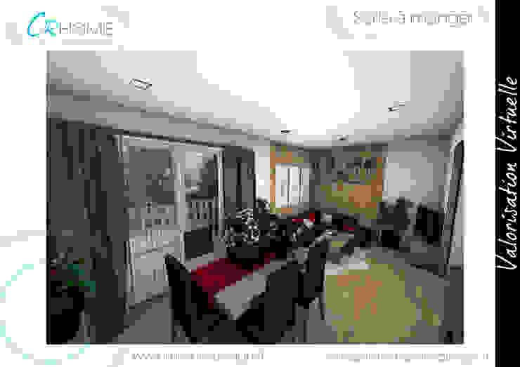 Salle à manger Salle à manger rustique par Crhome Design Rustique Bois massif Multicolore
