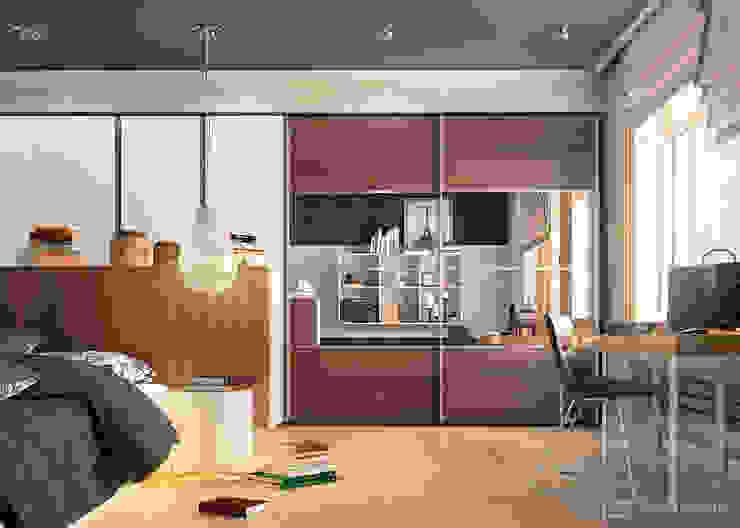 Bedroom Спальня в стиле модерн от Дмитрий Каючкин Модерн