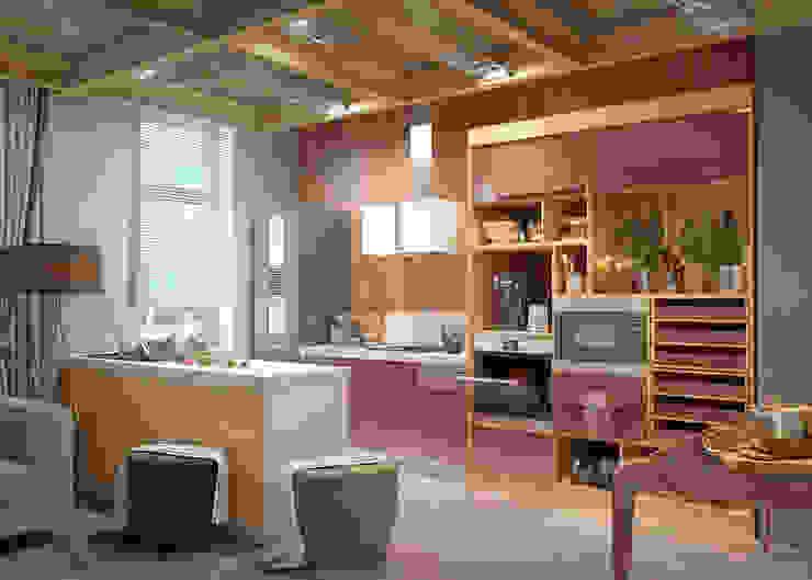 kitchens Кухня в стиле модерн от Дмитрий Каючкин Модерн