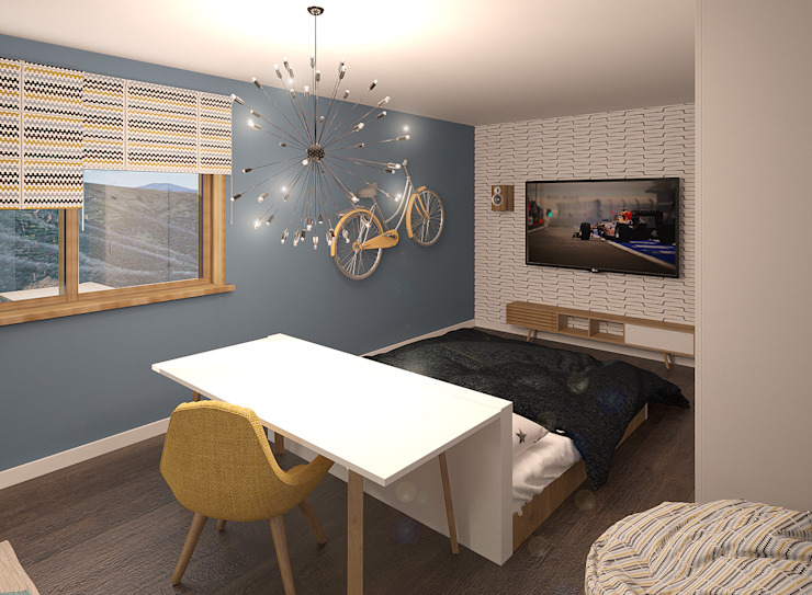 Дом Спальня в стиле модерн от Chloe Design & Decor/Anastasia Baskakova Модерн