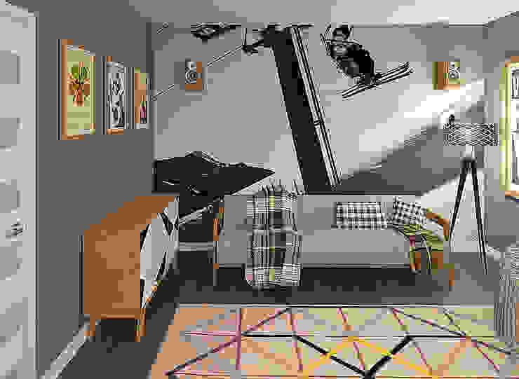Дом Детская комната в стиле модерн от Chloe Design & Decor/Anastasia Baskakova Модерн