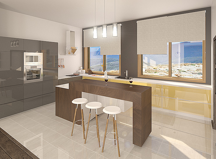 Дом Кухня в стиле модерн от Chloe Design & Decor/Anastasia Baskakova Модерн