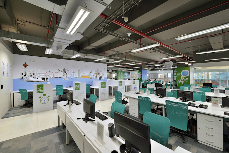 Resultrix Media Modern office buildings by Ar. Milind Pai Modern