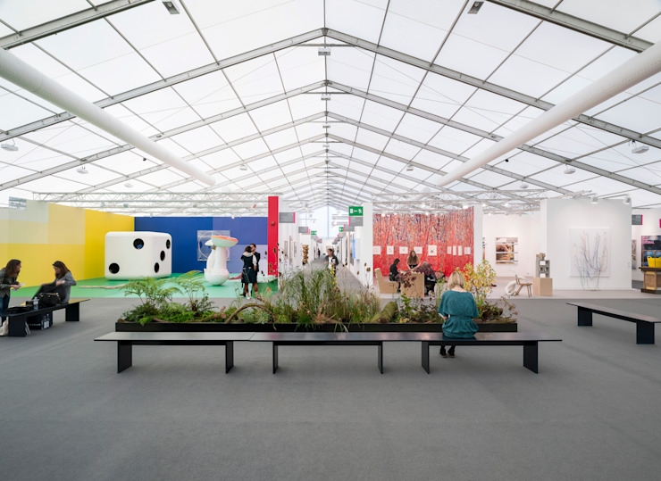 Frieze, London Centre d'expositions modernes par Universal Design Studio Moderne