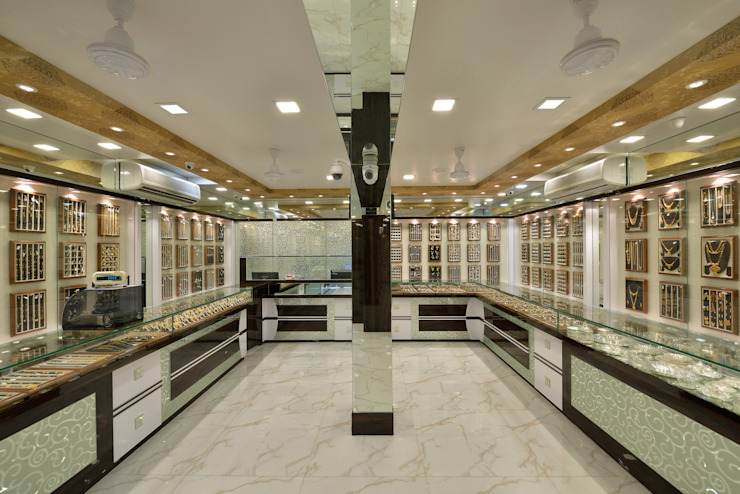 Retail Showroom by Mykraaft Designers and Project consultants Private Limited