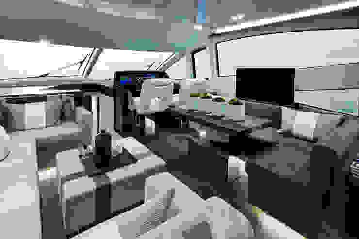 Living room Modern yachts & jets by Kelly Hoppen Modern