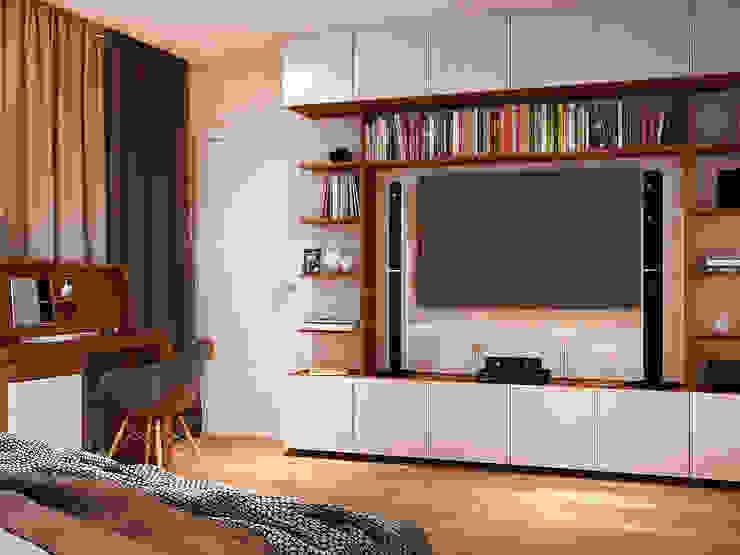 Cuartos de estilo moderno de Tatiana Zaitseva Design Studio Moderno