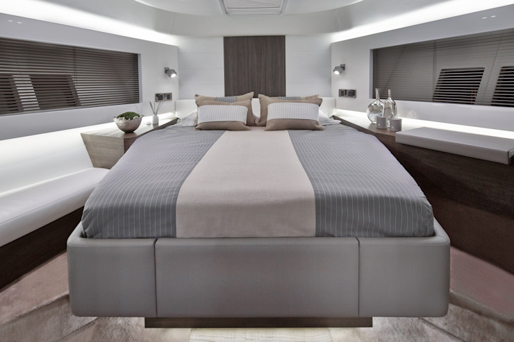 Bedroom 2 Modern yachts & jets by Kelly Hoppen Modern