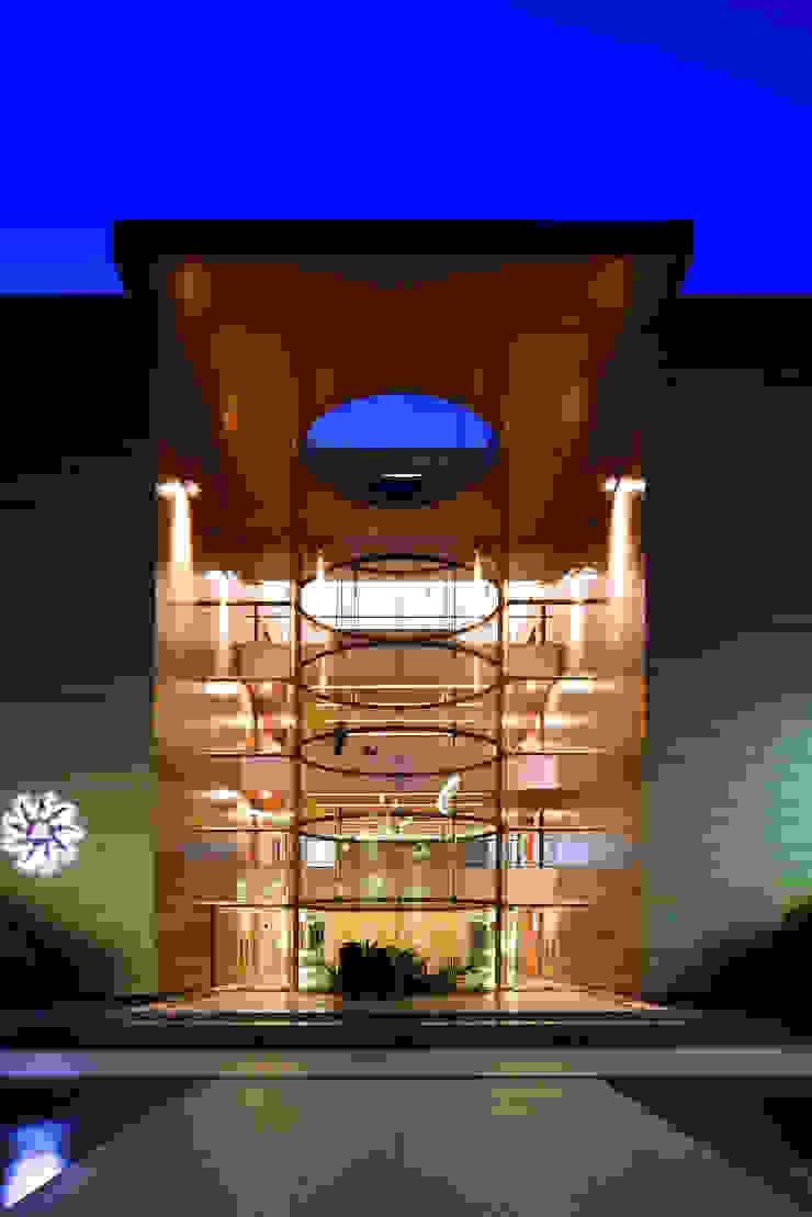 Glass Cylinders : modern  by Christopher Charles Benninger Architects Pvt. Ltd.,Modern