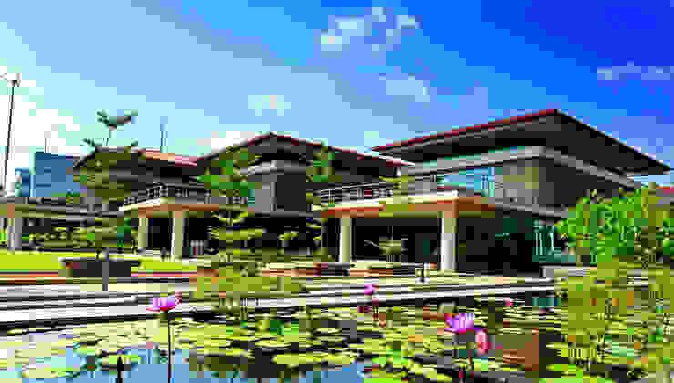 Training Centre: modern  by Christopher Charles Benninger Architects Pvt. Ltd.,Modern