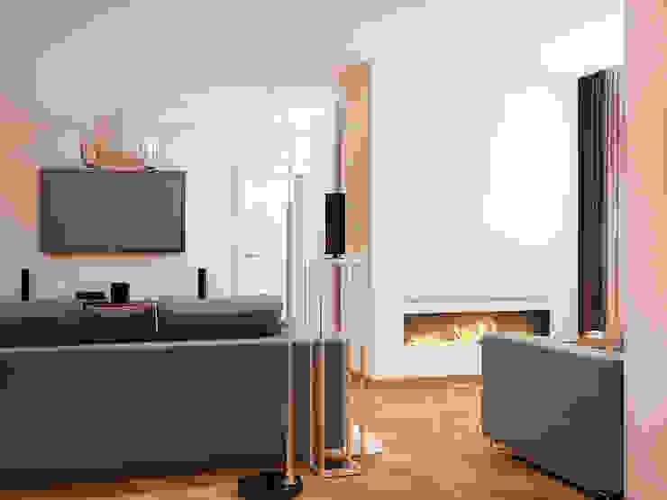 Salas de estilo moderno de Tatiana Zaitseva Design Studio Moderno