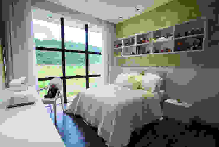 Chambre d'enfant minimaliste par ZAAV Arquitetura Minimaliste