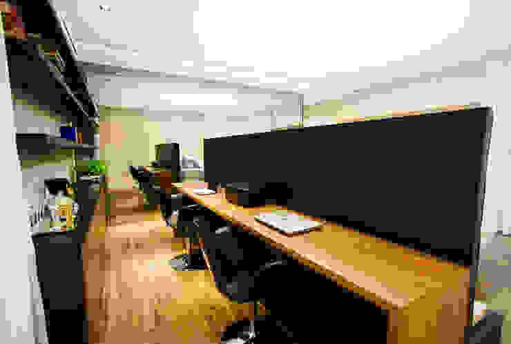 Chambre minimaliste par ZAAV Arquitetura Minimaliste