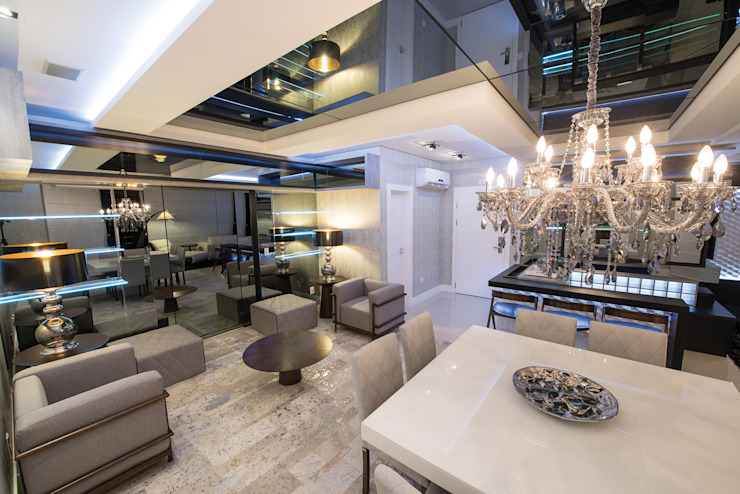Modern living room by Athos Peruzzolo Arquitetura Modern