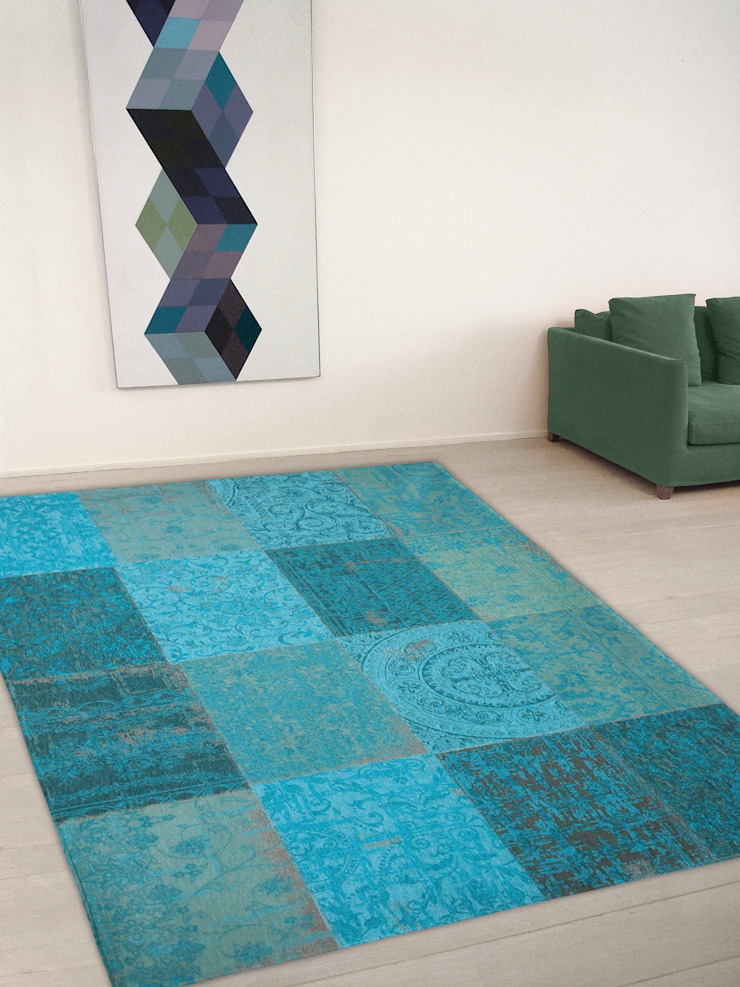Patchwork - Azur 8015 - Interior: modern  door louis de poortere, Modern