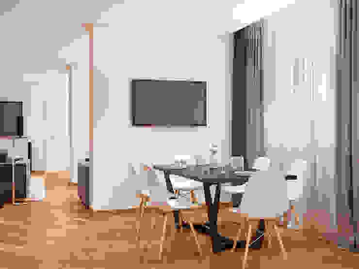 Comedores de estilo moderno de Tatiana Zaitseva Design Studio Moderno