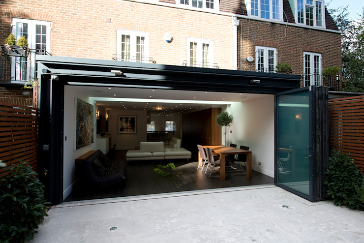 Rear Extension Modern Evler DDWH Architects Modern