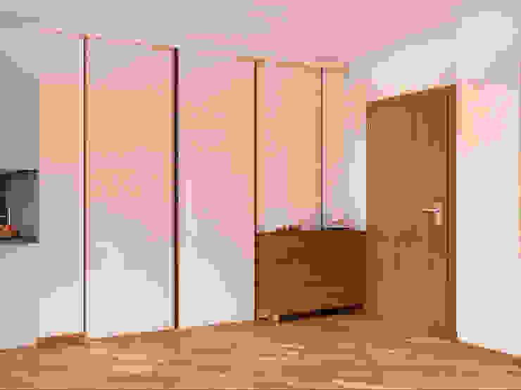 Pasillos, vestíbulos y escaleras de estilo moderno de Tatiana Zaitseva Design Studio Moderno