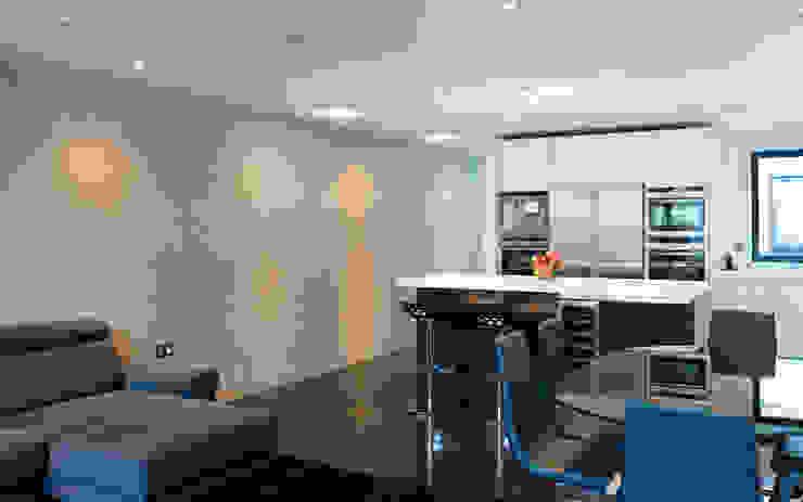Hertford Road - kitchen interior Modern kitchen by Syte Architects Modern