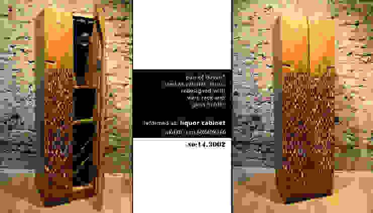 Wine cabinet No: 14.3002 von Reformist Project Ausgefallen