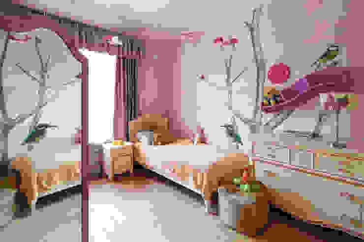 детская комната для девочки Детские комната в эклектичном стиле от VNUTRI Эклектичный