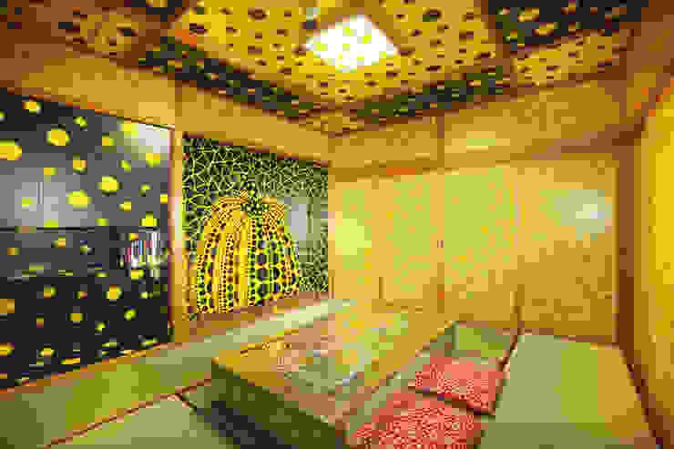 草間彌生×宝荘ホテルの客室「わが魂の記憶。」 オリジナルなレストラン の fujita2 オリジナル