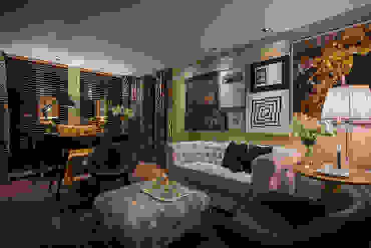 Salas / recibidores de estilo  por Johnny Thomsen Arquitetura e Design , Ecléctico