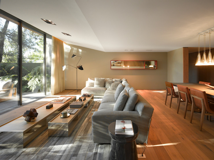 Living room by Ezequiel Farca, Modern