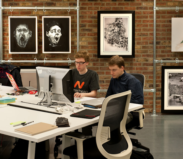Working at ThoughtWorks Rustic style office buildings by Morgan Lovell Rustic