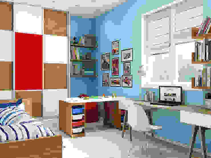Классический интерьер с элементами ориентал и красивыми десткими Детская комната в стиле модерн от Tatiana Zaitseva Design Studio Модерн