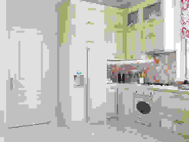 Классический интерьер с элементами ориентал и красивыми десткими Кухня в стиле модерн от Tatiana Zaitseva Design Studio Модерн
