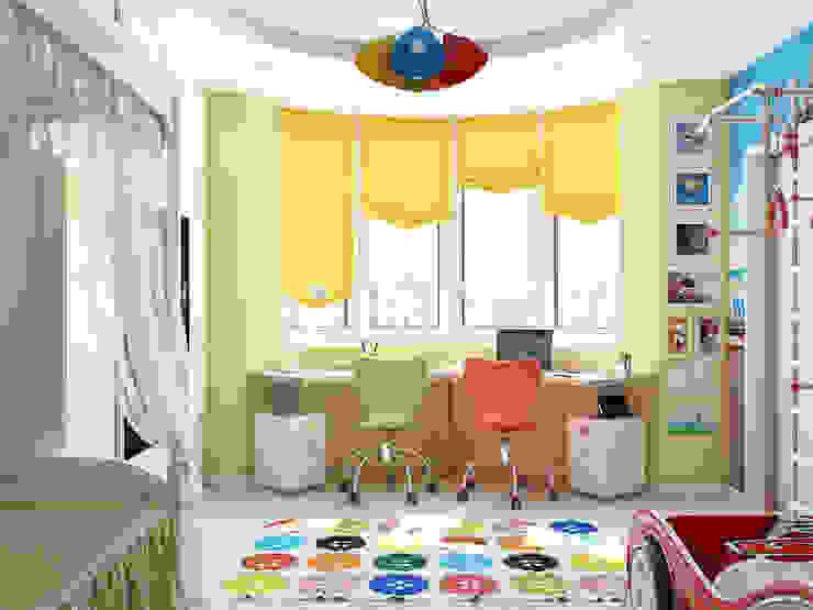 Dormitorios infantiles de estilo minimalista de Tatiana Zaitseva Design Studio Minimalista