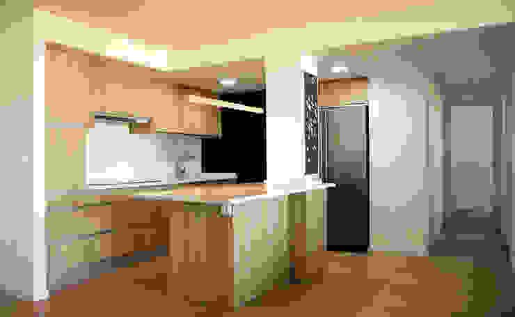 Salas Arquitectura+Diseño ห้องครัว