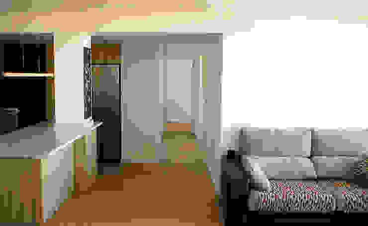 Salas Arquitectura+Diseño Soggiorno moderno