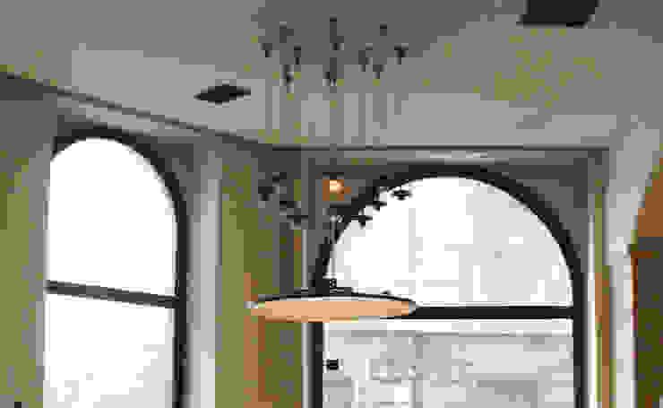 Salas Arquitectura+Diseño ห้องนั่งเล่นไฟห้องนั่งเล่น