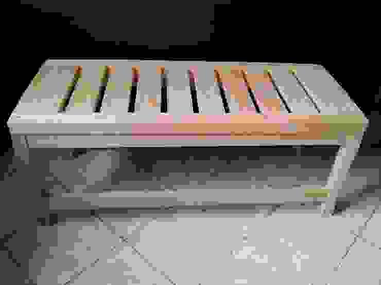 banca de madera de Almita Carpinteiro Rústico