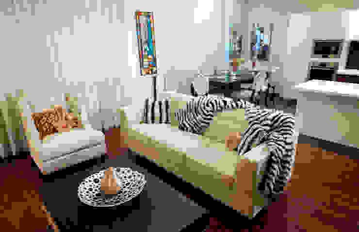 Квартира на Крупской Гостиная в стиле лофт от Дизайн-студия «ARTof3L» Лофт